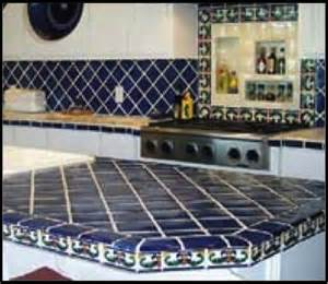 kitchen countertop tile design ideas ideas for using mexican tile in your kitchen or bath
