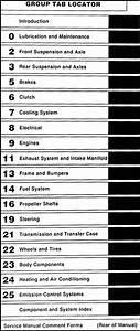 1993 Dodge Dakota Repair Shop Manual Original