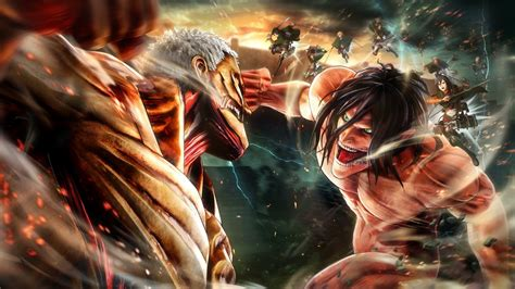 Anime Wallpaper Attack On Titan - attack on titan 2 wallpapers high quality free