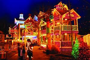 Iowa Christmas Light Displays Visit Silver Dollar City In Missouri For The Best