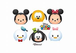 Mickey and Friends Tsum Tsum Collection Wall Decal Shop