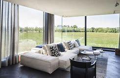 HD wallpapers maison contemporaine avec grande baie vitree ...