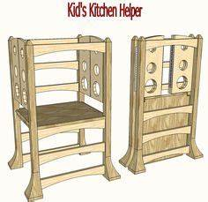 Kitchen Helper - Toddler Step Stool A well, My life and