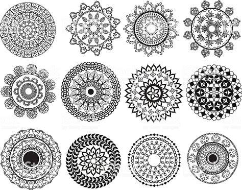 mini mandala designs stock vector art  images