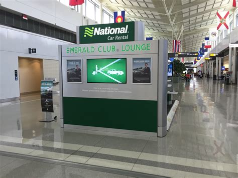 Emerald Club Lounge? National Car Rental Opens Up Inside