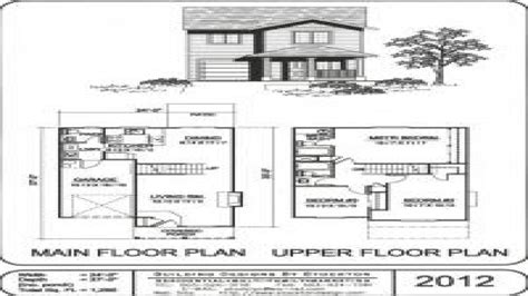 house plans two small two house plans simple two small houses