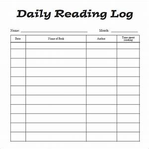 9 reading log templates free pdfdoc With reading log with summary template