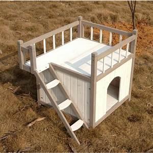 Niche Pour Chien Avec Terrasse : niche pour chien iroquois avec balcon ~ Dailycaller-alerts.com Idées de Décoration