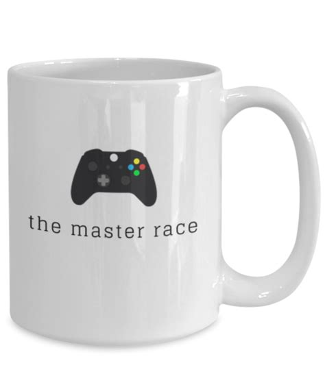Master Race Game Controller Mug Xbox Mug Fun Tea Mojoe