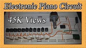 Electronic Piano Circuit