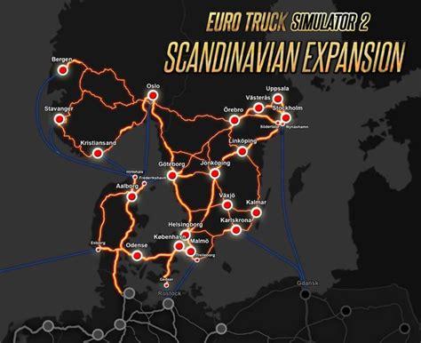 euro truck simulator  scandinavia  steam