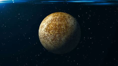 Animated Planet Wallpaper - animated mercury planet abstract space background 3d
