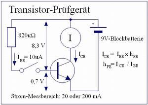 Transistor Berechnen : elektronik projekte transistor pr fger t ~ Themetempest.com Abrechnung