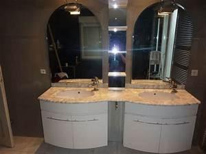Meuble salle de bain petite largeur meuble salle de bain for Meuble double vasque petite largeur