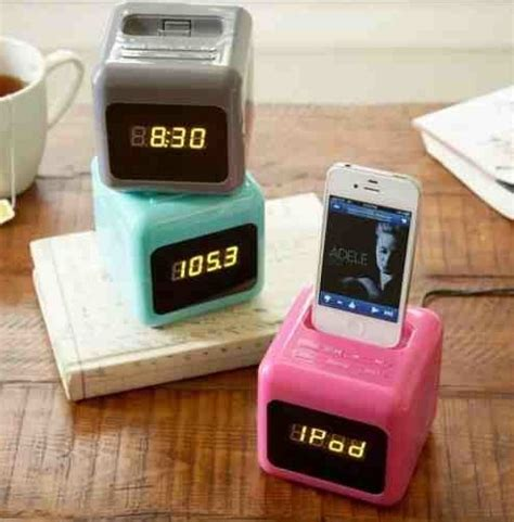 iphone 6 alarm clock dock iphone dock alarm clock cube alarm clock