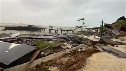 Hurricane Cancun Damage Delta Wind Accuweather Storm