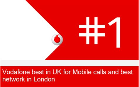 news vodafone best in uk for mobile calls and best network