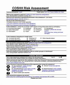 Free 7  Sample Coshh Assessment Forms In Pdf