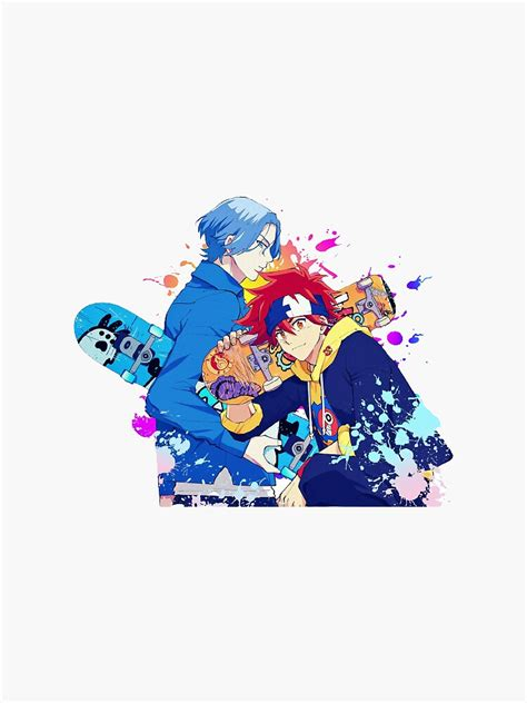 reki kyan langa hasegawa sk8 the infinity sticker by
