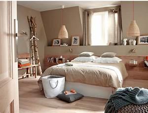 Idée Chambre Adulte : couleur peinture chambre adulte photo avec enchanteur idee ~ Melissatoandfro.com Idées de Décoration