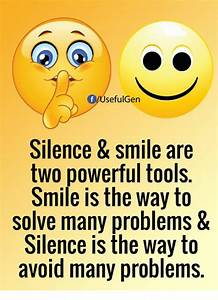Funny Smile Mem... Smile N Silence Quotes