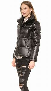 Sam Freestyle Down Jacket Jet In Black Jet Lyst