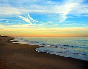 """Beach, Sunset, Ocean Sands, Corolla, Outer Banks, North"