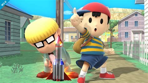 screenshots  ness  smash bros wii  earthbound central