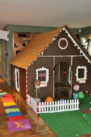 pvc gingerbread playhouse   candyland themed party