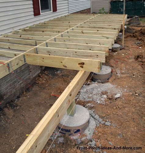 floating deck footing spacing 36 best images about cimientos on reinforced