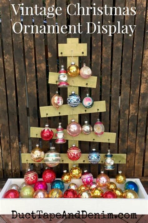 quick  easy     rustic christmas ornament
