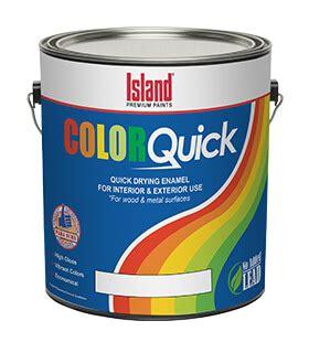 colorquick quick dry enamel island premium paints