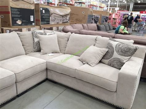 bainbridge 4pc fabric sectional model cou4254a 29 4pcset