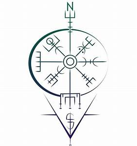 Compas De Vegvisir : 17 b sta id er om viking compass tattoo p pinterest ~ Melissatoandfro.com Idées de Décoration