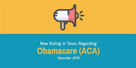 Whether you prefer a specific insurance carrier or. Obamacare (ACA) Ruled Unconstitutional in Texas, but This Fight is Far from Over - Self Insured ...