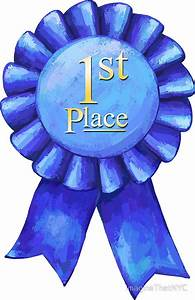 """""""Ribbons 1st Place"""" Stickers by ImagineThatNYC 