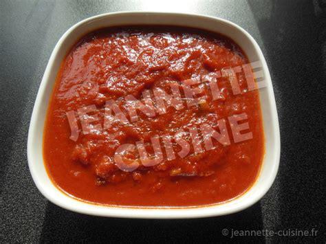 sauce cuisine la sauce tomate par jeannette cuisine accompagnement