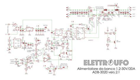 Schemi Alimentatori by Schema Elettrico Alimentatore Pc Atx Switching Power