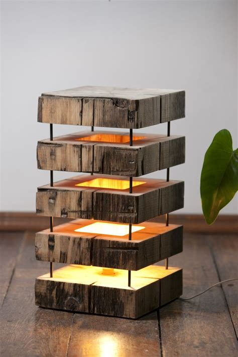 fascinating diy wooden lamp designs  spice
