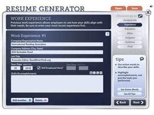 Resume Generator Tool by 80 Best Eportfolio Digital Portfolio Resources Images On