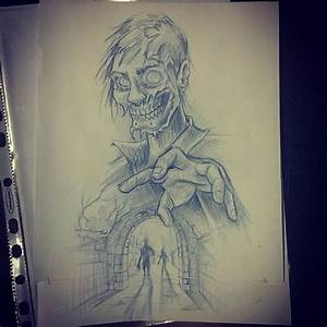 Scary Zombies Drawings images