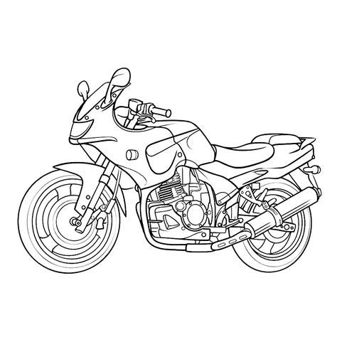 Kleurplaat Crossmotors by Leuk Voor Motor 0003