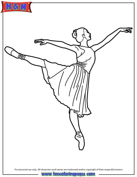 ballerina coloring pages coloring home