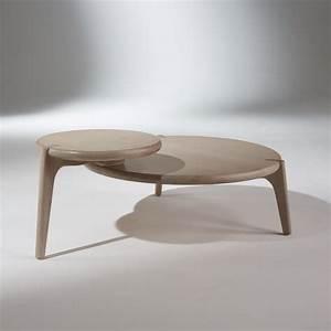 Table Basse Retro : table basse vintage ch ne blanchi sixty ~ Teatrodelosmanantiales.com Idées de Décoration