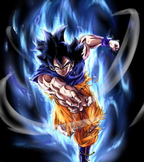 goku master ultra instinct wallpapers wallpaper cave
