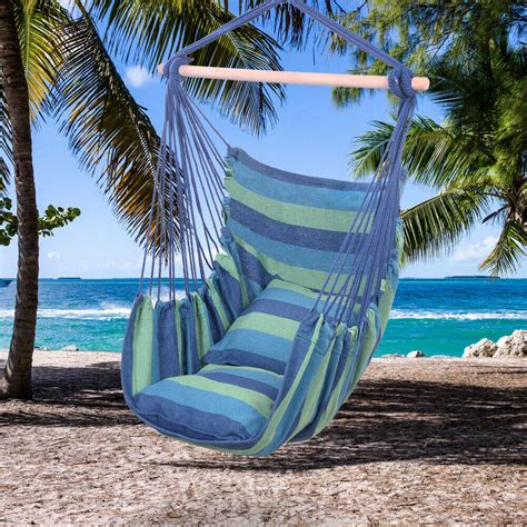 Hammock For by Hammock Hanging Rope Chair Porch Swing Seat Patio Cing