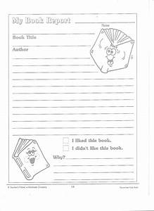 printable book report forms miss murphy39s 1st and 2nd With book report template for 2nd grade