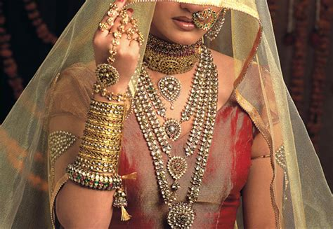 Wedding Jewelry Indian : Indian Bridal Jewelry Gold