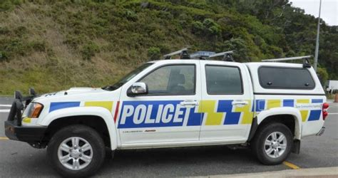 New Zealand Police Vehicle Markings And Livery