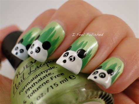 easy  simple zoo animals nail art designs